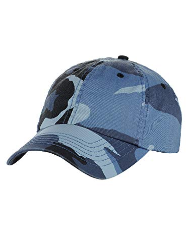 MG Unisex Unstructured Ripstop Camouflage Adjustable Ballcap]()