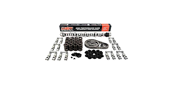 Lunati 10120100K Bare Bones 204//214 Hydraulic Flat Complete Cam Kit for Chevrolet Small Block