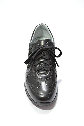 beige Nero pour de à Chaussures femme ville Noir lacets Black Giardini n7aqUz7Aw