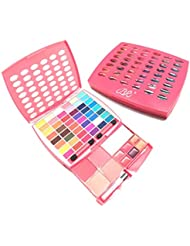 BR Makeup Kit, Glamur Girl Kit, 48 Eyeshadow / 4 Blush / 6 Lip Gloss