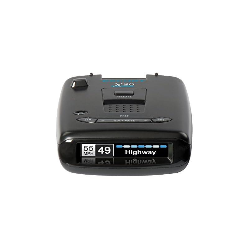 Escort X80 Radar Detector w/ Bluetooth a