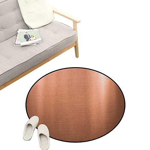 Abstract Round Rug Living RoomArt Deco ,Indusrial Plate Facade Illustration Tough Construction Element Modern, Playroom Super Soft Carpet Floor Mat 39
