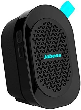 Jabees Beatbox Mini Altavoz Bluetooth inalámbrico a Prueba de Salpicaduras con micrófono Integrado, Color Azul