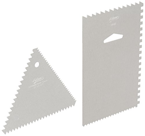Aluminum Decorating Comb (Ateco Decorating Comb and Icing Smoother)