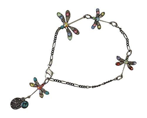 Anne Koplik Pastel Dragonfly Bracelet