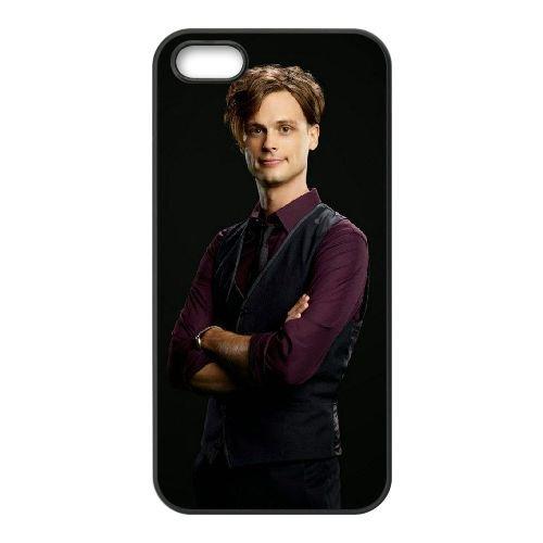Criminal Minds coque iPhone 5 5S Housse téléphone Noir de couverture de cas coque EBDXJKNBO16598