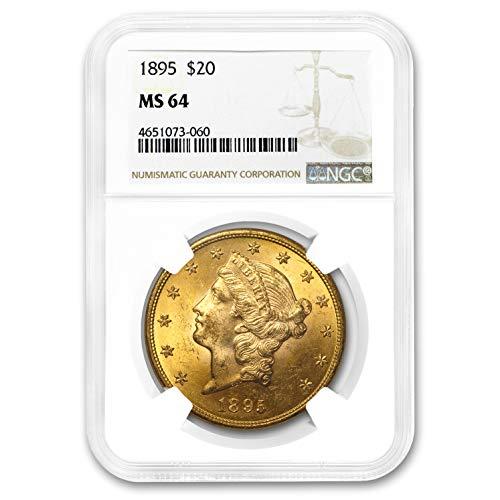 1895 $20 Liberty Gold Double Eagle MS-64 NGC G$20 MS-64 NGC