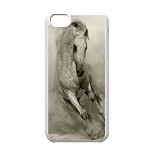 Protection Cover Hard Case Of Horse Cell phone Case For Iphone 5C