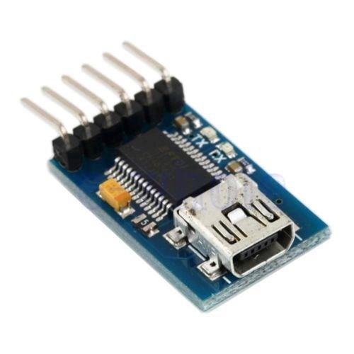 Gozebra(TM) FT232RL USB To RS232 TTL Serial Adapter Maximum232 Module 3.3~5V For Arduino GW