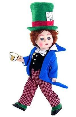 Madame Alexander, Mad Hatter, Alice in Wonderland Collection, Storyland Collection – 8″, Baby & Kids Zone