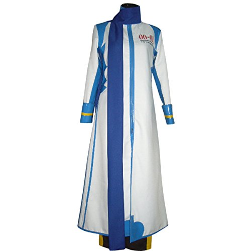 Lvcos Men's Costume VOCALOID Hatune Miku – Brother KAITO Cosplay Costume