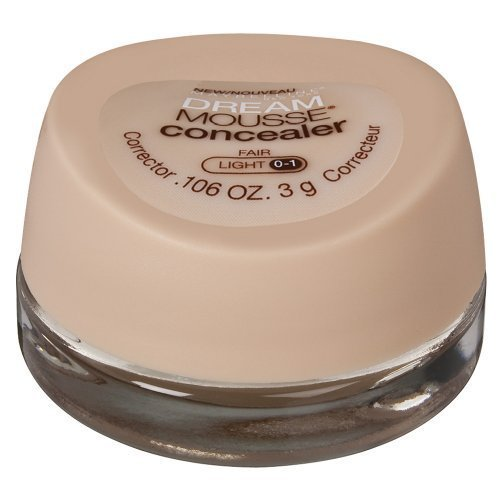 Maybelline Dream Mousse Concealer Correcteur Foire lumière 0-1 0,11 oz (3 g)
