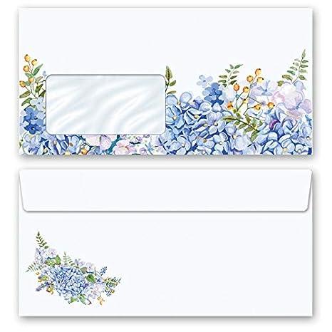 Set ohne Fenster DL Motiv-Briefpapier-Set WEIHNACHTSGESCHENKE 200-tlg