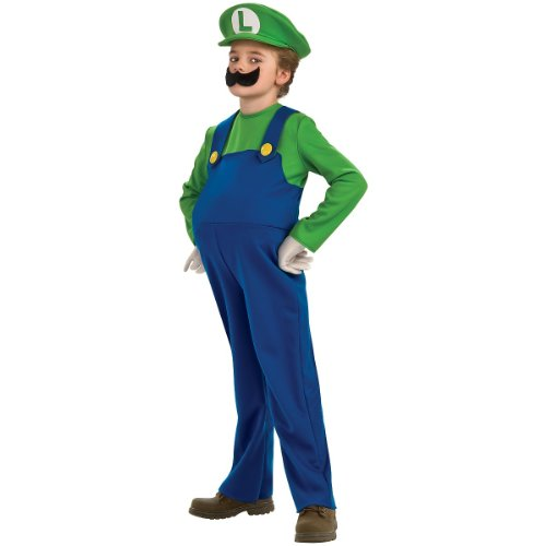 Child Luigi Costume - Large -