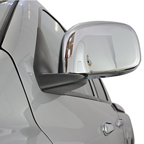 E-Autogrilles 65-0200 Triple Chrome Plated ABS Mirror Covers for 02-08 Dodge Ram 1500+03-09 Dodge Ram 2500/3500 (2006 Dodge Ram Chrome Accessories compare prices)
