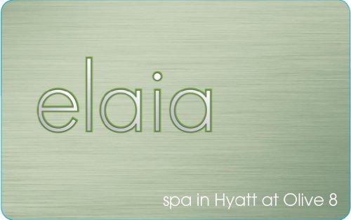 Elaia Spa at Hyatt Olive 8