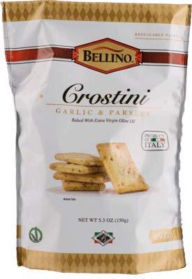 Bellino Garlic and Parsley Crostini, Pack of 4