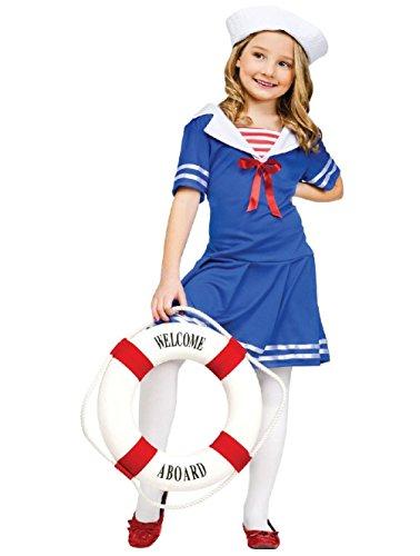 Sea Sweetie Sailor Nautical Navy Child Costume