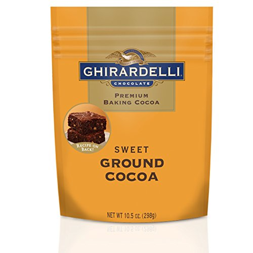 Ghirardelli Sweet Ground Chocolate and Cocoa Pouch, 10.5 (Ghirardelli Sweet)