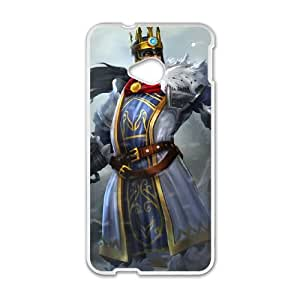 HTC One M7 Cell Phone Case White League of Legends King Tryndamere OIW0401531