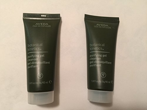 Set of 2 Aveda Botanical Kinetics Purifying Gel Cleanser--1.4 oz each