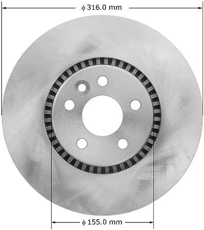 Bendix Premium Drum and Rotor PRT6073 Rear Rotor