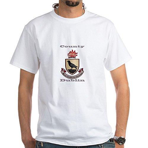 - CafePress County Dublin Coat of Arms T-Shirt 100% Cotton T-Shirt, White