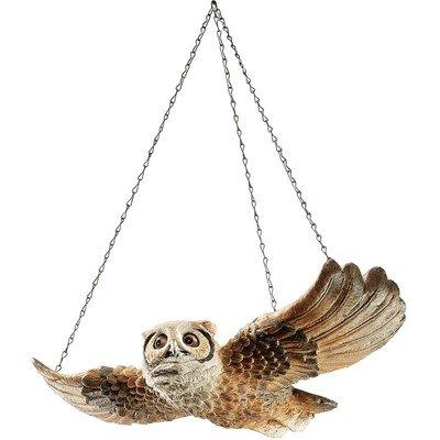 Design Toscano The Garden Owl Hanging Wall D cor