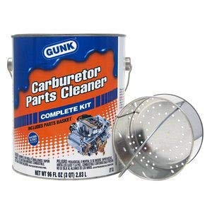 Gunk CC3K Carburetor & Parts Cleaner with Drip Basket - 96 fl. oz.