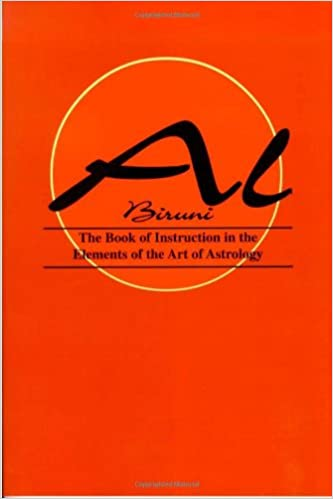 Book of instructions in the elements of the art of astrology et al book of instructions in the elements of the art of astrology et al al biruni 9781933303161 amazon books fandeluxe Images