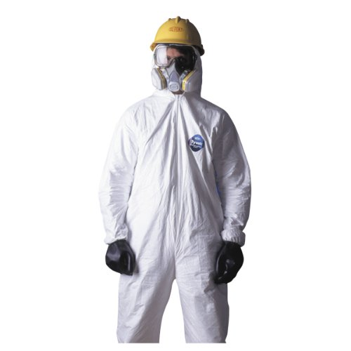 (Tyvek Hooded Coveralls (2XLarge, As Shown))