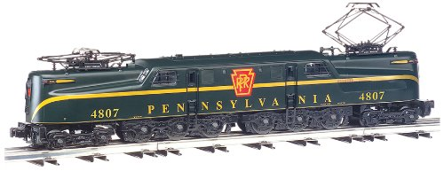 - Bachmann Industries GG1 Electric DCC Sound Value Locomotive PRR Brunswick Green Single Stripe #4807 HO Scale Train Car