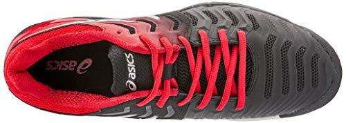 Noir argent Chaussures resolution 7 Tennis Homme Gel Asics De A76wfPfq