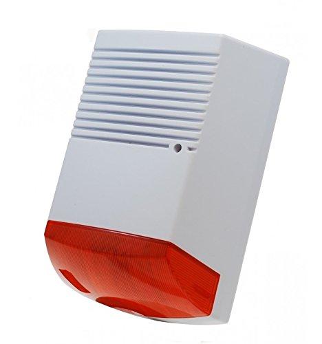 Gran Solar sirena de alarma maniquí, maniquí de solar dummy ...