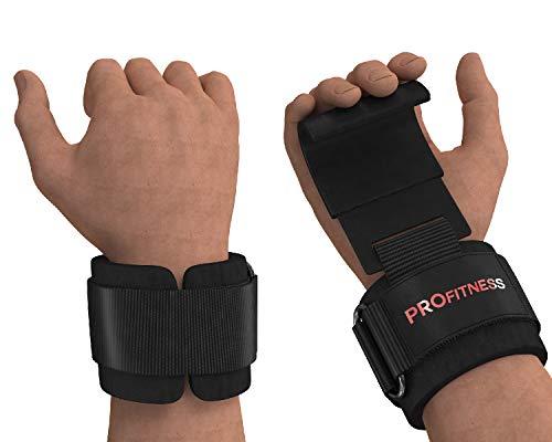 ProFitness Weight Lifting Hook 1 (Black/Red)
