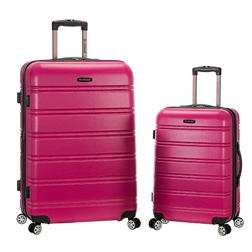Pink Shell Reviews (Rockland 20 Inch 28 Inch 2 Piece Expandable Abs Spinner Set, Magenta, One Size)