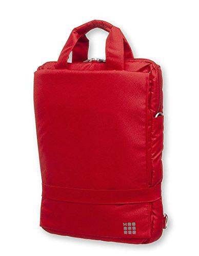 Moleskine Device Bag, 15.4 inch, Vertical (Scarlet Red) by Moleskine