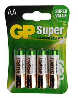 Batterien LR6 Super alkalinas AA c-10bx4 4891199000560