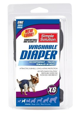 Diaper Garment X-Small, 2-8 Lbs (Diaper Garment Dog Bramton)