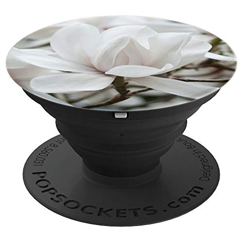 Magnolia Flower Floral Mobile Accessory For Men Women - PopSockets Grip and Stand for Phones and Tablets