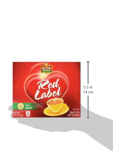Brooke Bond Red Label Tea Bags, 100 Count (Pack Of 12) by Brooke Bond (Image #5)