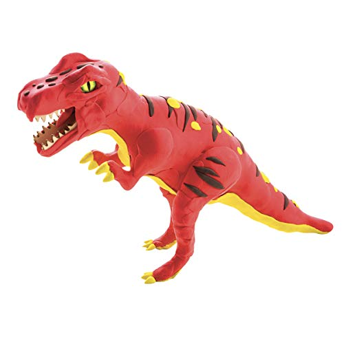 ROBOTIME DIY Soft Clay Super Light Easy Modeling Moulding Clay Set with DIY T-Rex Dinosaur Skeleton Great Present Toy for Kids