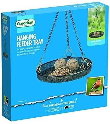GARDMAN HANGING WILD BIRD FEEDING TRAY GARDEN HANGING FEEDER TRAY A01017