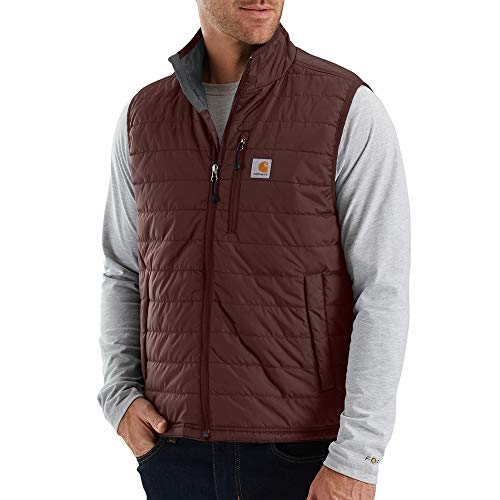 Carhartt Men's Gilliam Vest (Regular and Big & Tall Sizes), Dark Cedar, Small