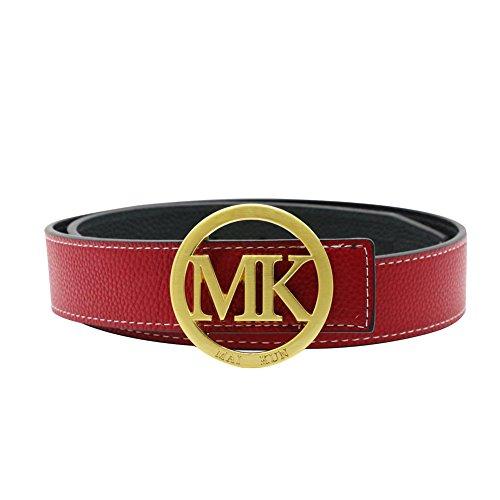 Maikun Letter Buckle Leather Adjustable product image