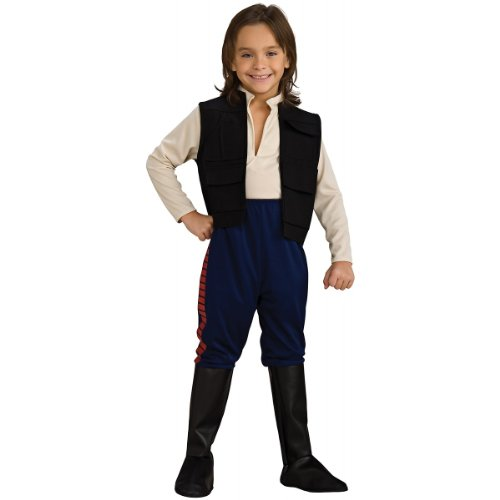 Han Solo Costumes For Kids - Deluxe Han Solo Child Costume - Small