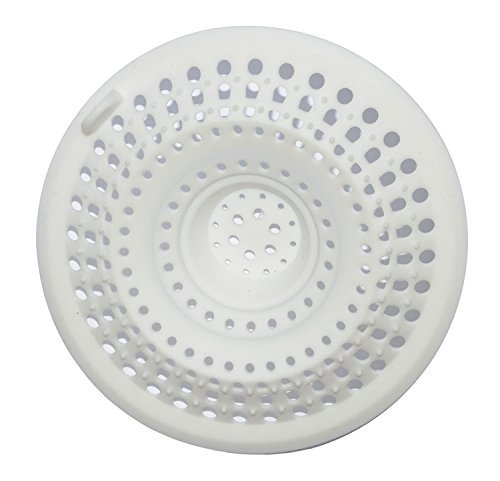 Wild Tribe 2 Ways Silicone Hair Catcher Stopper Shower Drain Cover Filter by Wild Tribe