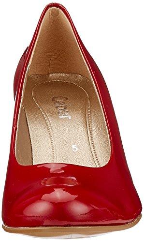 Scarpe con Basic Gabor Rosso Tacco Donna Cherry 0E5qUn