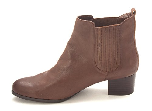 Brown Womens Zoe Pointed Chelsea Ankle Boots Nappa Luca Toe x8wT5CfqBw
