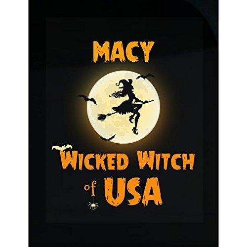Macy Wicked Witch Of Usa Halloween Gift - - Macy's Usa